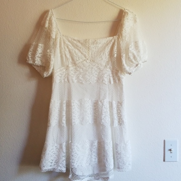 1328bd90a9d Free People Be your Baby Lace Babydoll dress